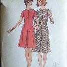 Vintage 60s Butterick  6541 A-Line Jewel Neck Dress Pattern Size 16.5