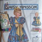 Simplicity  7768 Daisy Kingdom Girl's Dress and Pinafore Pattern Uncut Size 3-6