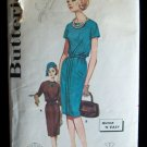 Vintage 60's Butterick 2316 Bloused Sheath Dress Pattern Size 14