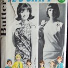 Vintage 60s Butterick 2624 Shift Dress Blouse Skirt Box Jacket and Coat Pattern Size 12