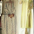 Vintage 50's Simplicity  3388 Nightgown and Bed Jacket Pattern Size 12