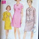 Vintage 60s Simplicity 7450 A-Line Dress Suit Box Jacket Pattern