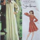 Vintage Vogue Americana  2975 Stan Herman Shirt Lounge Dress Pattern Uncut Size 12