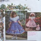 Simplicity  9456 Daisy Kingdom Girl's Party Dress Hat and Purse Pattern Uncut Size 5-8