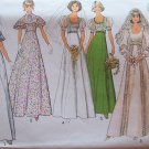Vintage 70s Simplicity 6940 Wedding Bridal Gown Bridesmaid Dress Pattern Uncut Size 8