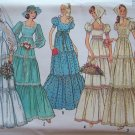 Simplicity  6278 Boho Tiered Skirt Wedding Gown or Bridesmaid Dress Pattern Uncut Size 12