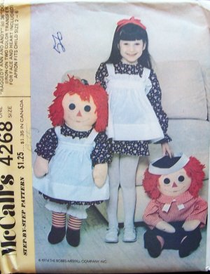 Doll Patterns » Raggedy - PatternMart.com ::. Welcome to Pattern
