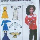 Butterick  6664 Marie Osmond Doll Clothes Wardrobe Pattern Uncut Retro Style