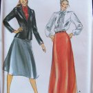 Vintage Butterick  3327 Evan Picone Jacket Blouse and Evening Skirt Pattern Uncut Size 14