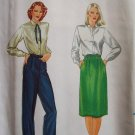 Uncut Vintage Butterick 3388 A-Line Skirt and Pants Pattern Size 12