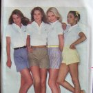 Retro 80's Butterick 3179 Front Gather Pleated Shorts Pattern Uncut Size 12