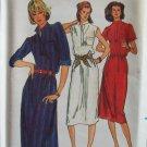Vintage 70s Butterick 6968 Standing Collar Summer Dress Sewing Pattern Uncut Size 12 ½