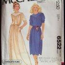 Vintage McCall's 6522 Charlotte Ford Side Pocket Evening Dress Pattern Uncut Size 12