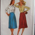 Butterick 6919 Vintage Straight Skirt Sewing Pattern Side Pleat Uncut Size 12