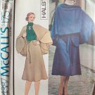 Vintage 1975 McCall's 4387 Halston Cape and Skirt Sewing Pattern Uncut Size 12