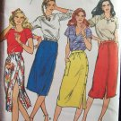 Vintage Butterick 3164 A-Line Skirt Sewing Pattern Uncut Size 8-12
