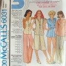 Vintage 1978 McCall's 6031 Blouse Vest Skirt Pants or Shorts Pattern Uncut