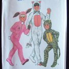 Vintage 70's Simplicity 7683 Cat Bunny Rabbit Costume Sewing Pattern Uncut Child's Size 6