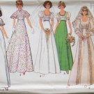 Vintage Simplicity 6940 Wedding Bridal Gown Bridesmaid Dress Pattern Uncut Size 12