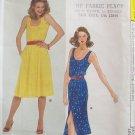 Vintage Vogue 7711 Scoop Neck Sundress Pattern Straight or A-line Front Button Uncut Size 12