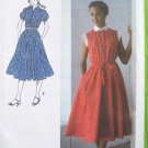 Vintage 70's Simplicity 8982 Shirtwaist Dress Sewing Pattern Peter Pan Collar Uncut Size 8