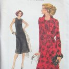Vintage Vogue 9382 A-Line Sleeveless Dress and Jacket Pattern Uncut Size 14