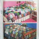 Vintage 70's Simplicity 5950 Puff Quilt Coverlet and Pillow Pattern Uncut Size Twin and Full