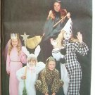 Vintage Butterick 3372 Children's Clown Rabbit Princess Cat Costume Pattern Uncut Size 3-6x