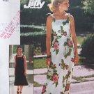 Vintage 70's Simplicity 7519 Uncut Shoulder Strap Maxi Dress Pattern Tie Belt Size 8-10