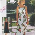 Vintage 1970's Simplicity 7519 Shoulder Tie Maxi Sun Dress Pattern Uncut Size 12-14