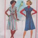 Vintage 70's Simplicity 7578 Summer Dress Jumper Pattern Uncut Size 10-12