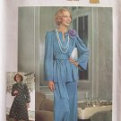 Vintage 70's Simplicity 7212 Evening Pantsuit or Dress Pattern Uncut Size 12