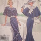 Simplicity 9360 20's Style Capelet Dress Pattern Uncut 60th Anniversary Size 6-12