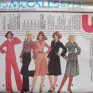 Vintage 70s McCall's 5773 Jumper Dress Top Skirt and Pants Pattern Uncut Size 8-12