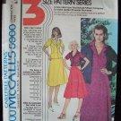 Vintage 70s McCall's 5960 Princess Seam Blazer Blouse Skirt Dress Suit Pattern Uncut Size 8-12