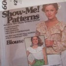 Vintage 70s McCall 6008 Peasant Blouse Pattern Long or Sleeveless Uncut Size 10-14