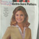 Vintage 70s Simplicity 8445 Ladies Notched Collar Blazer Jacket Pattern Uncut Size 8-12