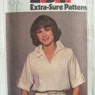 Vintage 70s Simplicity 8510 Pullover Raglan Sleeve Dress Pattern Uncut Size 8-12