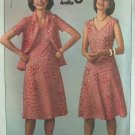 Vintage 70s Simplicity 7965 Stretch Knit Pullover Dress and Jacket Pattern Uncut Size 12