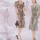 Vogue 2876 Vintage Model 40's A-Line Dress Pattern Uncut Size 18-22