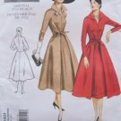 Vogue 2401 Vintage Model 50's Tie Front Dress Pattern Uncut Size 18-22