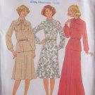 Vintage 70s Simplicity 8311 Long Blouse Evening Skirt Pattern Tie Collar Uncut Size 14