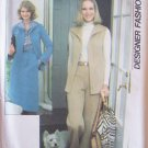 Vintage 70s Simplicity 8161 Sleeveless Vest Shirt Jacket Skirt Pants Pattern Uncut Size 12