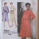 Vintage 70s simplicity 9161 Yoked Shirtdress Pattern Stand Up Collar Long Short Sleeve Uncut