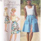 Vintage 70s Simplicity 6968  Shirt Top Skirt and Shorts Pattern Uncut Size 14