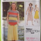 Vintage 70s Simplicity 8891 knit Cardigan Pullover Top Skirt Pattern Uncut Size 10-14