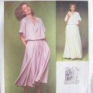 Vintage Simplicity 8645 Kimono Sleeve Evening Dress Pattern Uncut Holly's Harp Designer