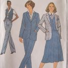 Vintage Simplicity 8868 Vest Jacket Skirt and Pants Pattern Uncut Size 12