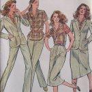 Vintage Butterick 6992 Jones New York Blouse Jacket Skirt and Pants Pattern Uncut Size 10