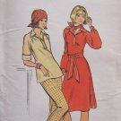 Vintage Butterick 4311 A-Line Dress Tunic Top Pants Pattern Uncut Size 12